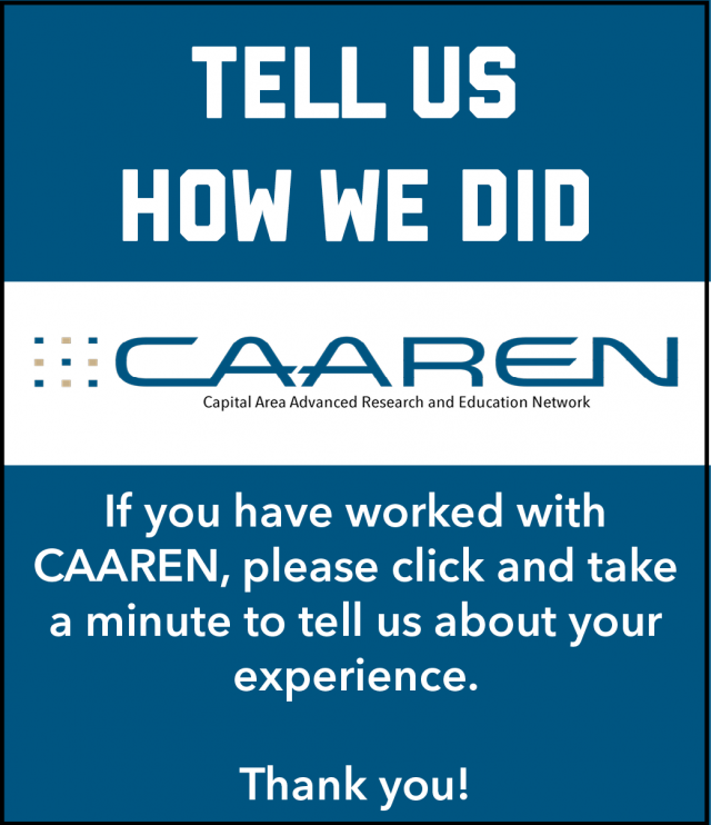 CAAREN Survey Response Request Image